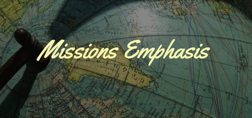 Missions Emphasis